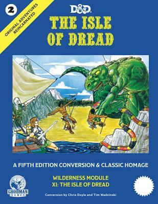 Original Adventures Reincarnated #2 - The Isle of Dread Cover Image
