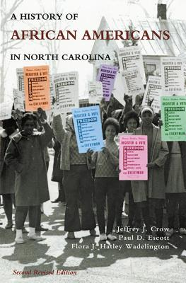 History of African Americans in North Carolina Cover Image