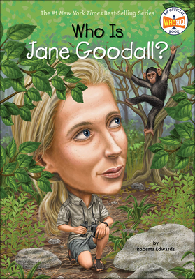 Cover for Who Is Jane Goodall? (Who Was...?)