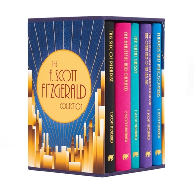 The F. Scott Fitzgerald Collection: Deluxe 5-Volume Box Set Edition Cover Image