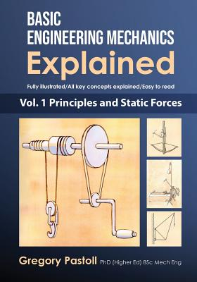 Basic Engineering Mechanics Explained, Volume 1: Principles and Static Forces Cover Image