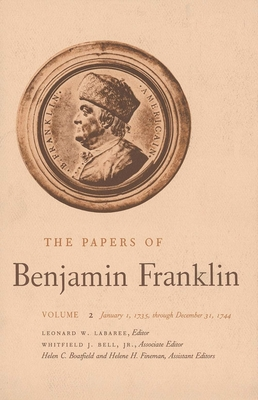 Cover for The Papers of Benjamin Franklin, Vol. 2