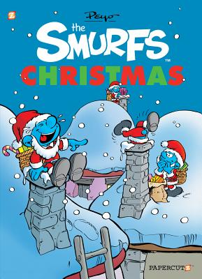 The Smurfs Christmas (The Smurfs Graphic Novels) Cover Image