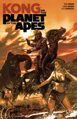 Cover for Kong on the Planet of the Apes