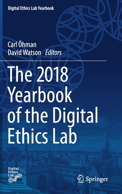 The 2018 Yearbook of the Digital Ethics Lab Cover Image