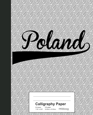 Calligraphy Paper: POLAND Notebook Cover Image