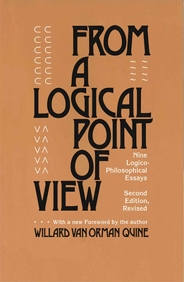 Cover for From a Logical Point of View