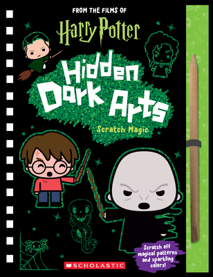 Harry Potter: Hidden Dark Arts: Scratch Magic Cover Image