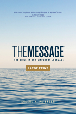 The Message Outreach Edition, Large Print (Softcover): The Bible in Contemporary Language Cover Image