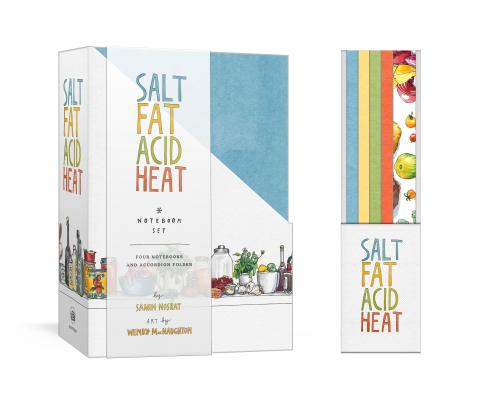 Salt, Fat, Acid, Heat Four-Notebook Set Cover Image