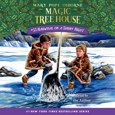 Narwhal on a Sunny Night (Magic Tree House (R) #33) Cover Image