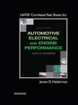 Natef Correlated Task Sheets for Automotive Electrical and Engine Performance Cover Image