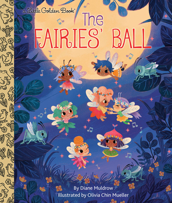 The Fairies' Ball (Little Golden Book) Cover Image