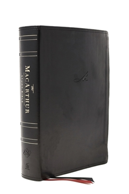 Cover for The Esv, MacArthur Study Bible, 2nd Edition, Leathersoft, Black