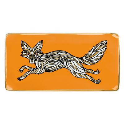 Patch NYC Fox Rectangle Porcelain Tray Cover Image