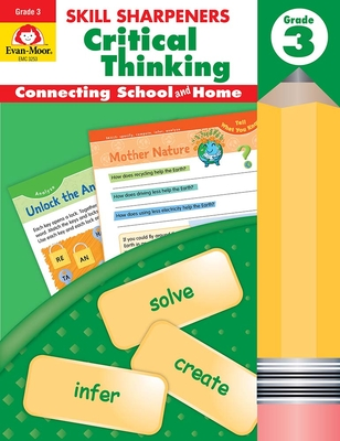 Skill Sharpeners Critical Thinking, Grade 3 Cover Image