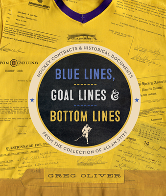Cover for Blue Lines, Goal Lines & Bottom Lines