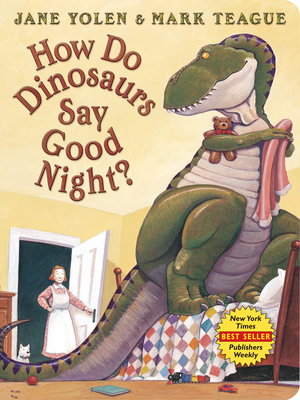 How Do Dinosaurs Say Good Night? Board Book (How Do Dinosaurs...?) Cover Image