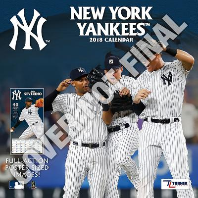 New York Yankees 2019 12x12 Team Wall Calendar Cover Image