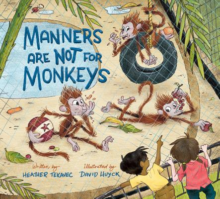 Manners Are Not for Monkeys Cover