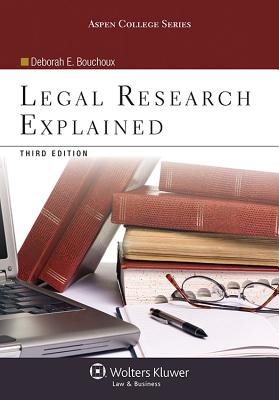 Legal Research Explained Cover Image