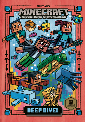Deep Dive! (Minecraft Woodsword Chronicles #3) (A Stepping Stone Book(TM)) Cover Image