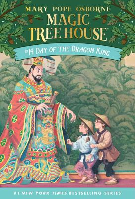 Day of the Dragon King (Magic Tree House (R) #14) Cover Image