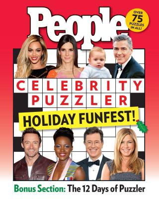 People Celebrity Puzzler Holiday Funfest! Cover Image