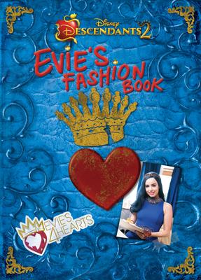 Descendants 2 Evie's Fashion Book Cover Image