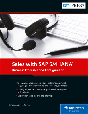 Configuring Sales in SAP S/4hana Cover Image