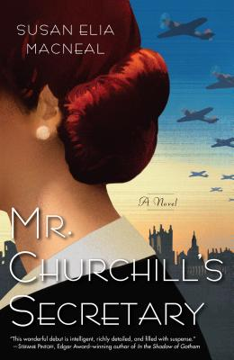 Mr. Churchill's Secretary (Kennebec Large Print Superior Collection) Cover Image