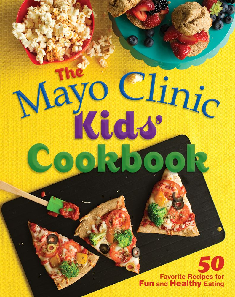 Kids Recipe Book Cover ~ The mayo clinic kids cookbook favorite recipes for