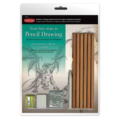 Your First Steps in Pencil Drawing Cover