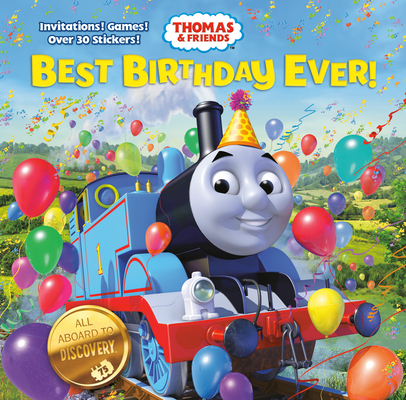 Best Birthday Ever! (Thomas & Friends) Cover Image