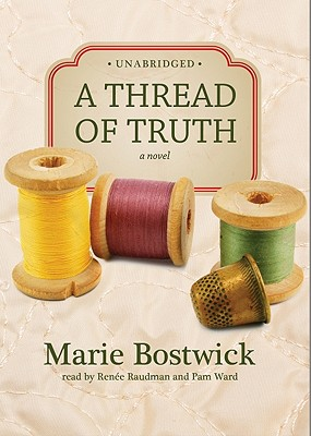 Cover for A Thread of Truth Lib/E (Cobbled Court Quilts Novels #2)