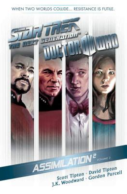 Star Trek: The Next Generation / Doctor Who: Assimilation 2 Volume 2 cover