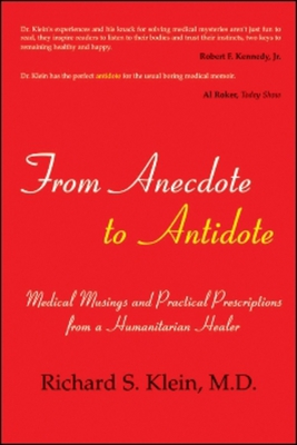 From Anecdote to Antidote Cover