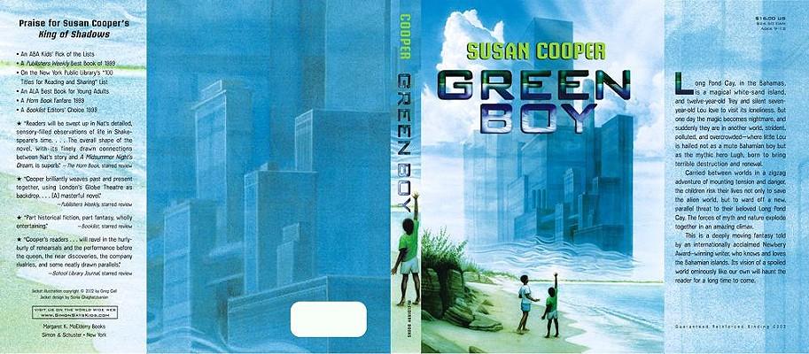 Green Boy Cover