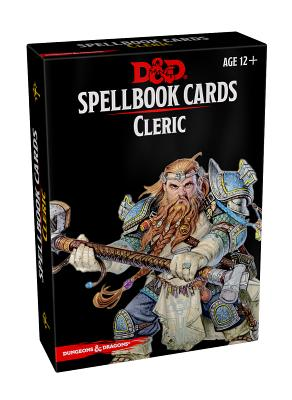 Spellbook Cards: Cleric (Dungeons & Dragons) Cover Image