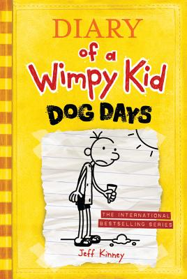 Dog Days (Diary of a Wimpy Kid #4 Export edition) Cover Image