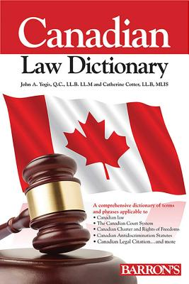 Canadian Law Dictionary Cover Image