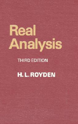 Real Analysis Cover Image