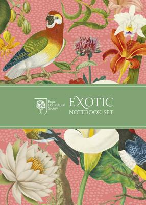 Royal Horticultural Society Exotic Notebook Set Cover Image