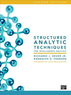 Structured Analytic Techniques for Intelligence Analysis Cover Image