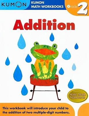 Addition Grade 2 (Kumon Math Workbooks) Cover Image