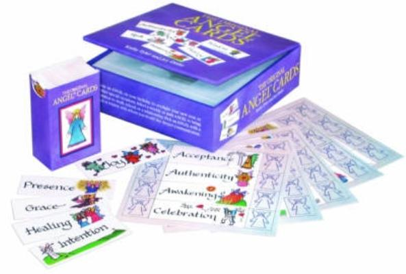 Original Angel Cards and Book Set: Inspirational Messages and Meidtations Cover Image