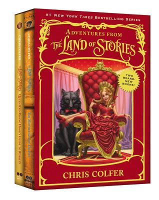 Adventures from the Land of Stories Set: The Mother Goose Diaries and Queen Red Riding Hood's Guide to Royalty Cover Image