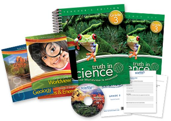 Truth in Science - Grade 3 Total Package Cover