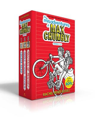 Cover for The Misadventures of Max Crumbly Books 1-3
