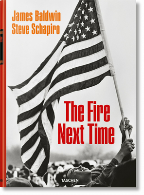 James Baldwin. Steve Schapiro. the Fire Next Time Cover Image
